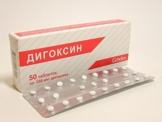 Дигоксин инструкция по применению видаль