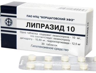 Ліпразид інструкція