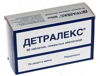 Описание препарата Детралекс.