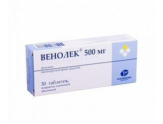 Описание препарата Венолек.
