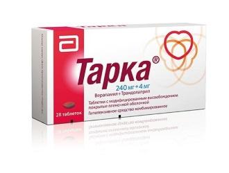 Изображение - Таблетки от давления тарка tarka
